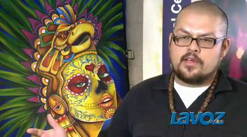 Local artist talks Dia de los Muertos