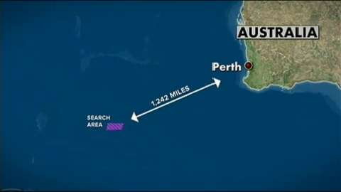 Malaysia missing plane in Indian Ocean, official says
