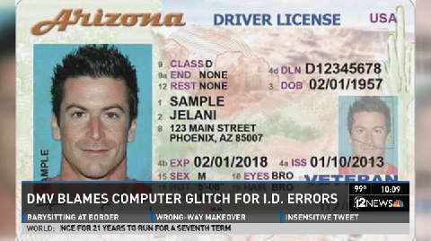 Adot Photos Signatures Licenses Issues Driver's With Incorrect