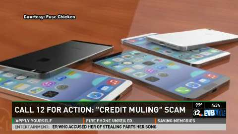 "Call 12: ""Credit Muling"" scam"