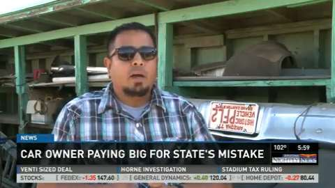 Call 12: Dad loses classic car after state mistake