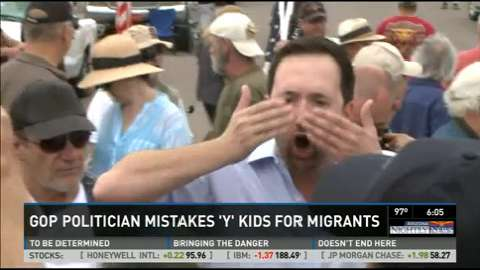 Arizona GOP candidate confuses YMCA campers with migrant children