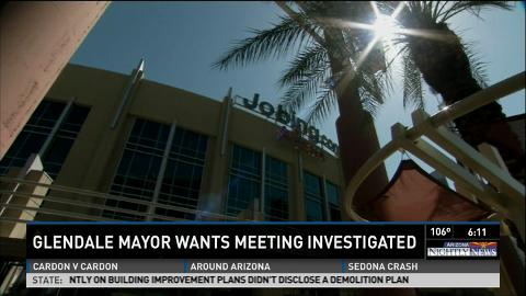 Glendale Mayor: Meeting on Coyotes deal violated law