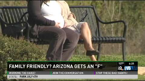 "Call 12: Arizona gets an ""F"" when it comes to family friendly work policies"