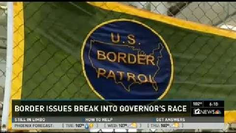 Migrant crisis puts border in center of governor's race