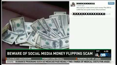 Call 12: Beware of flipping scams