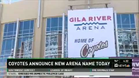 Coyotes officially announce new arena name