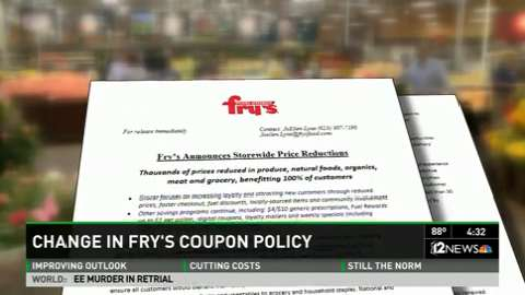 Frys Grocery Stores Changing Its Coupon Policies