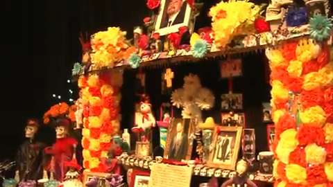 Mesa arts center celebrates day of the dead