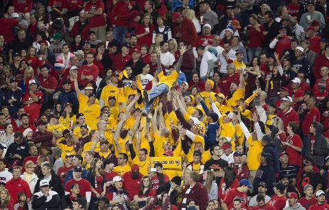 Researchers Find Asu Ua Most Intense Football Rivalry