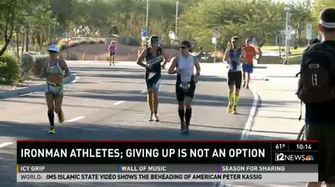 McMahon sets Arizona course record in Ironman debut