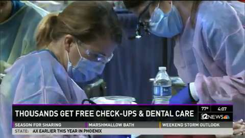Thousands receive free dental care Friday