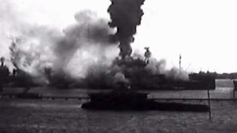 Destruction of the battleship USS Arizona