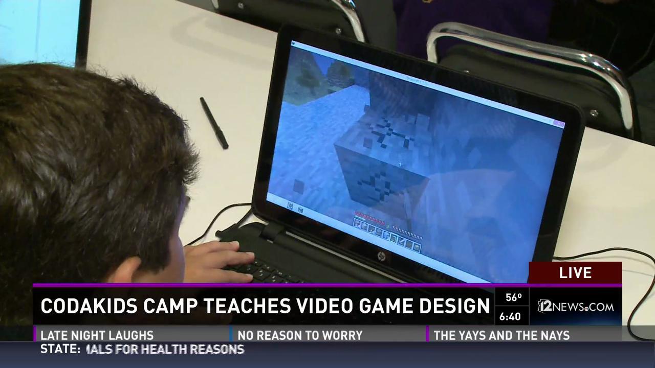 Kids Learn Video Game Design At Unique Scottsdale Camp - Computer game design for kids