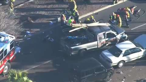 4 seriously injured in wreck at 20th Street and Bell Road