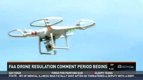 "Phoenix are tech expert calls FAA drone plan ""common sense"" approach"
