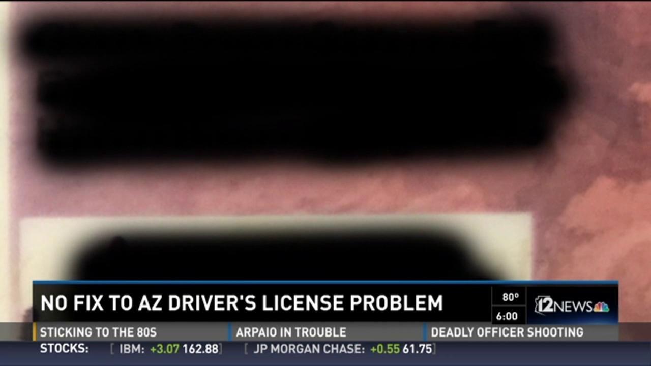Bill to fix Arizona's drivers license is dead