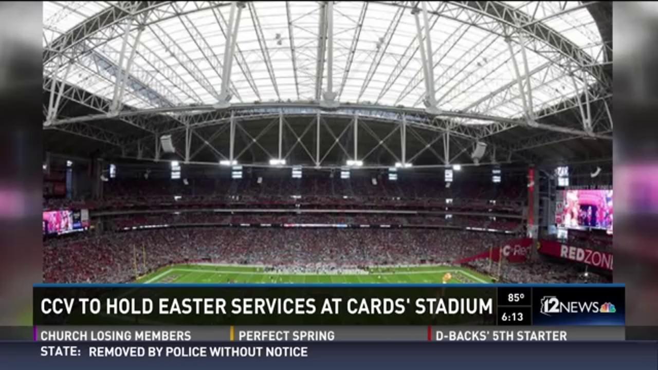 ccv to hold easter services at arizona cardinal stadium