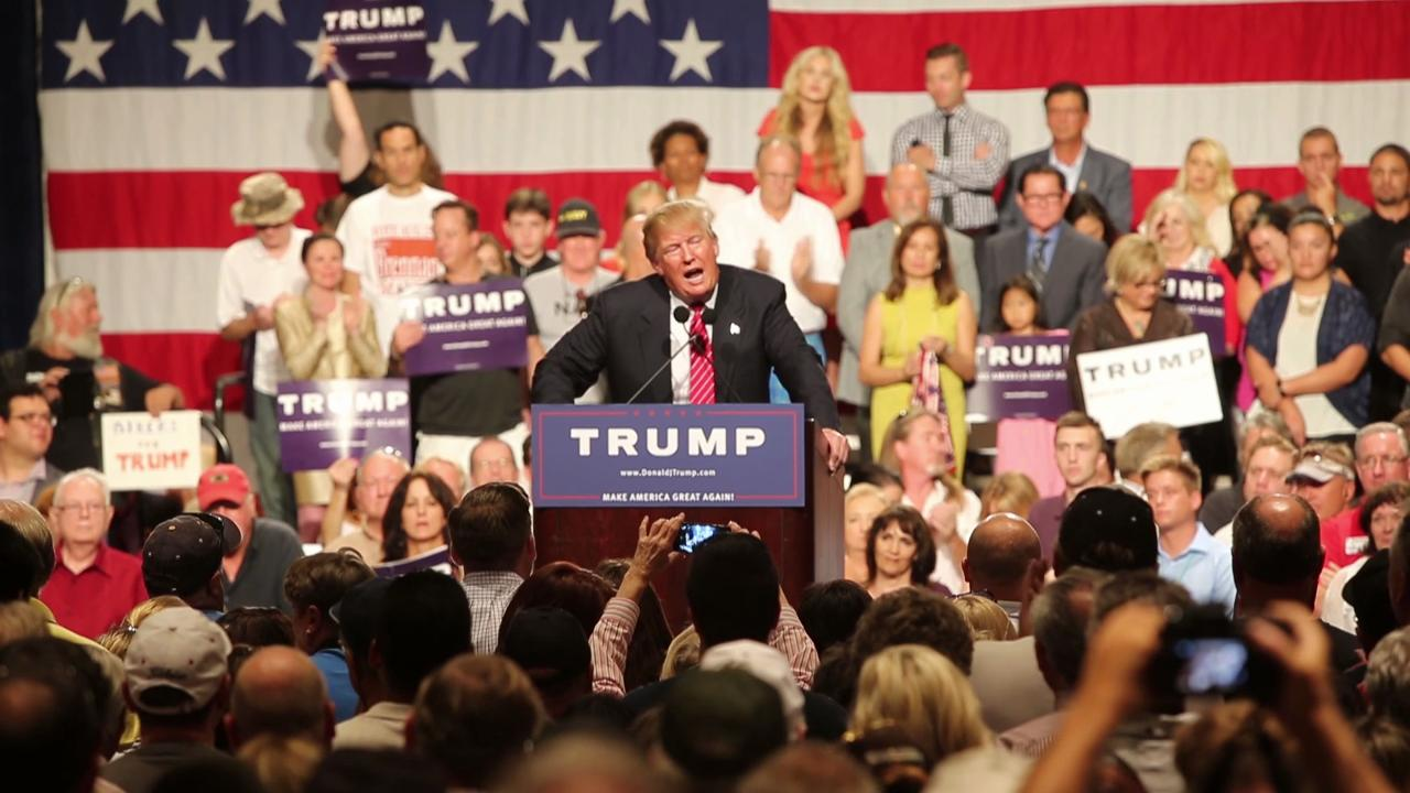Donald Trump delivers speech to Phoenix