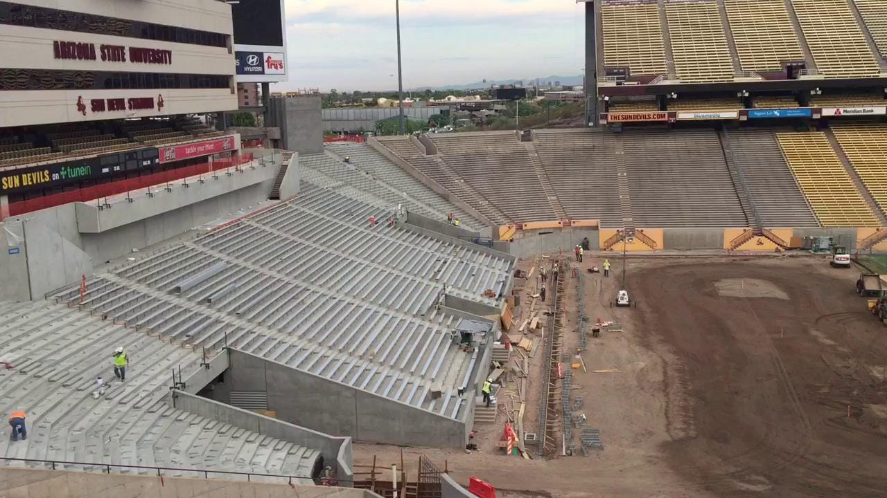 Sun Devil Stadium renovations