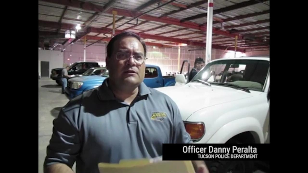 Tuscon police educates officers on car safety and enforcement