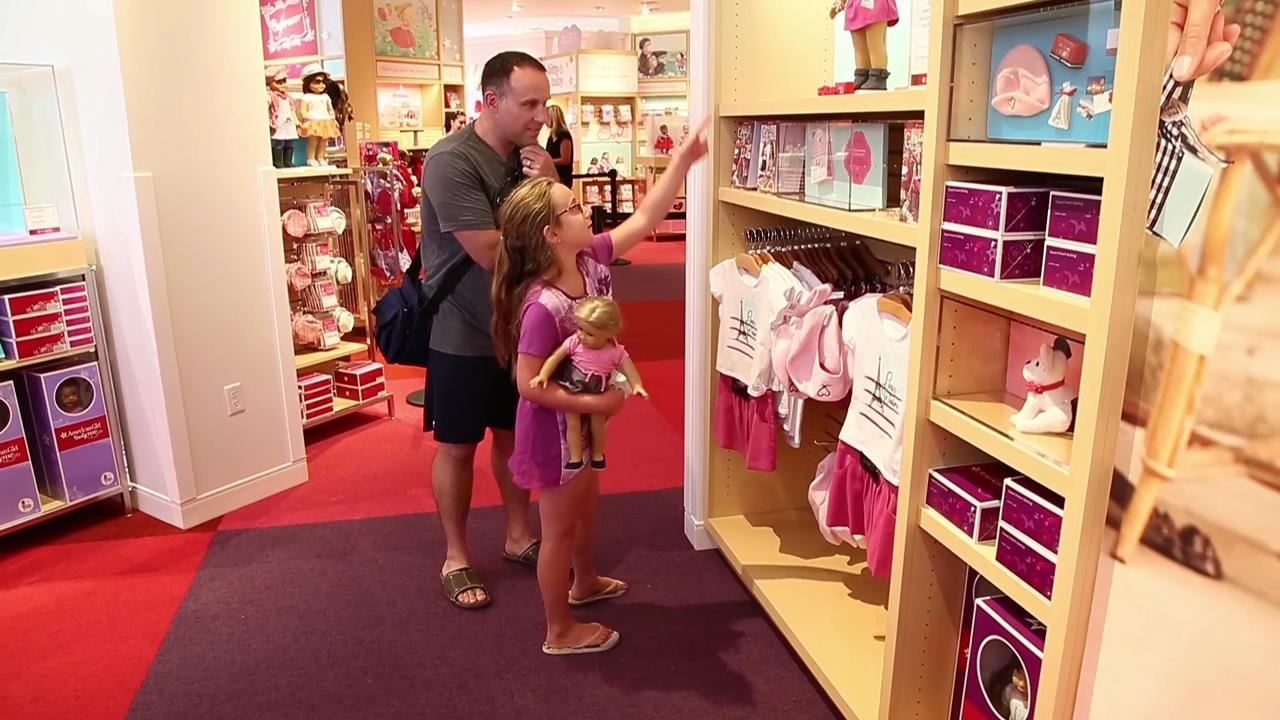 A soft opening Wednesday allowed lucky girls and their parents in for a sneak peek at the new American Girl doll store in Scottsdale.