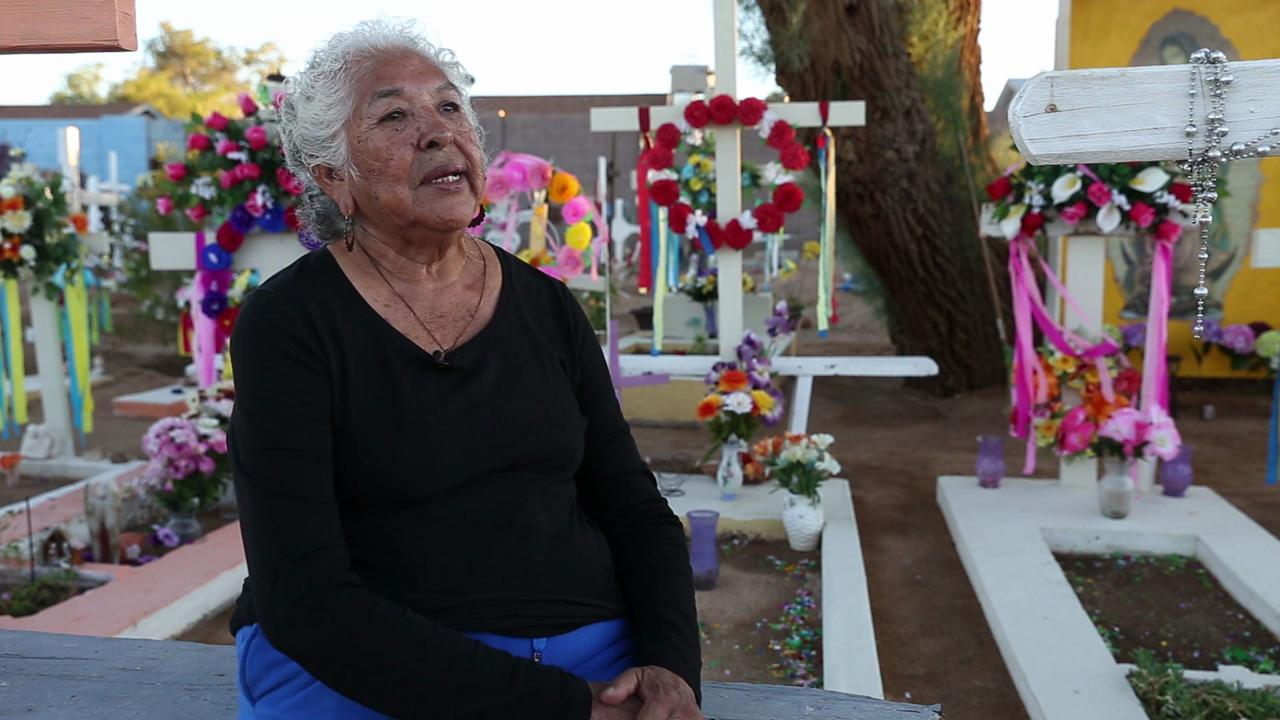 Day of the Dead hits home at Guadalupe Cemetery