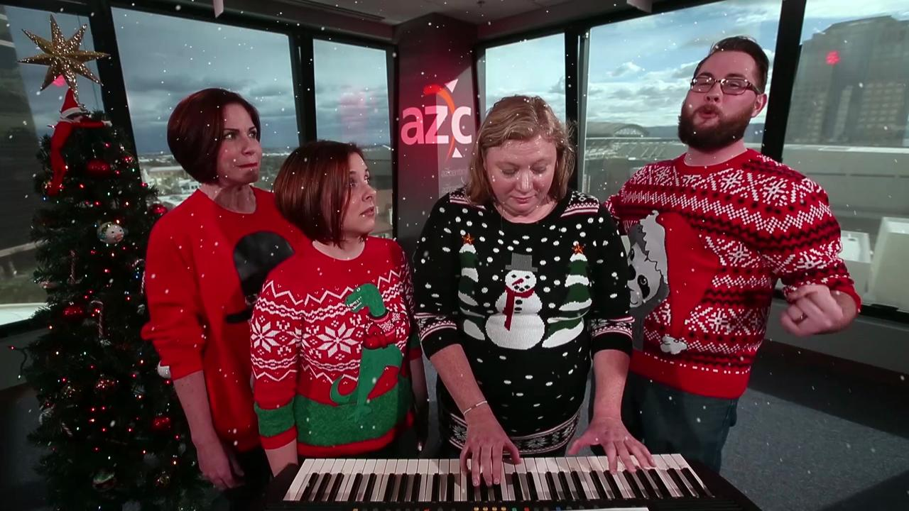 the 12 days of christmas for millennials remix complete with ugly sweaters - 12 Days Of Christmas Remix