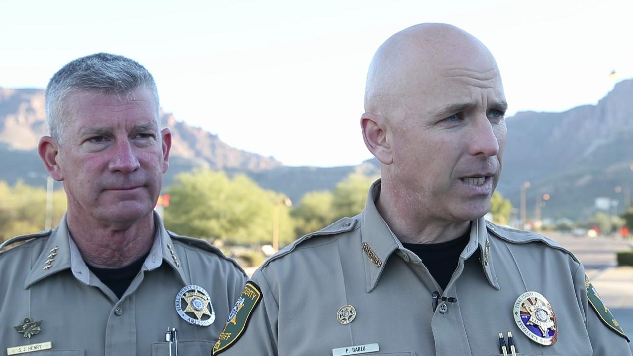 Helicopter crash in Superstitions: Sheriff's update