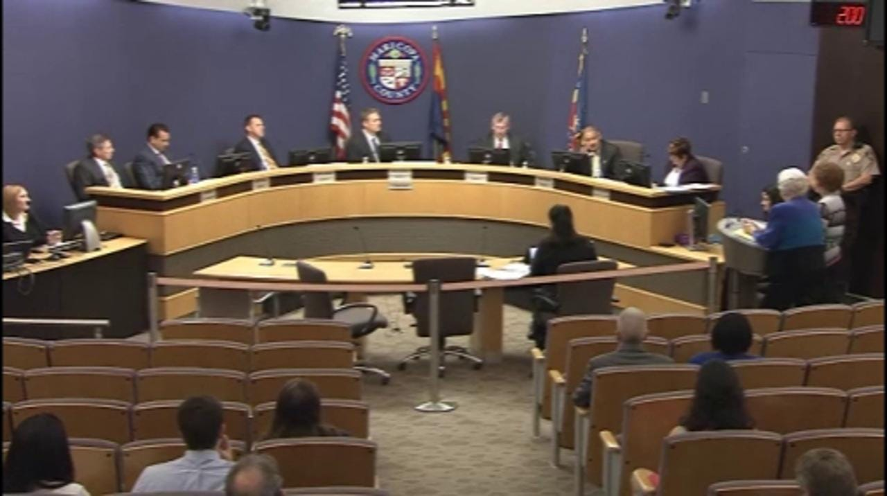 Video shows Maricopa County had concerns about polls months before