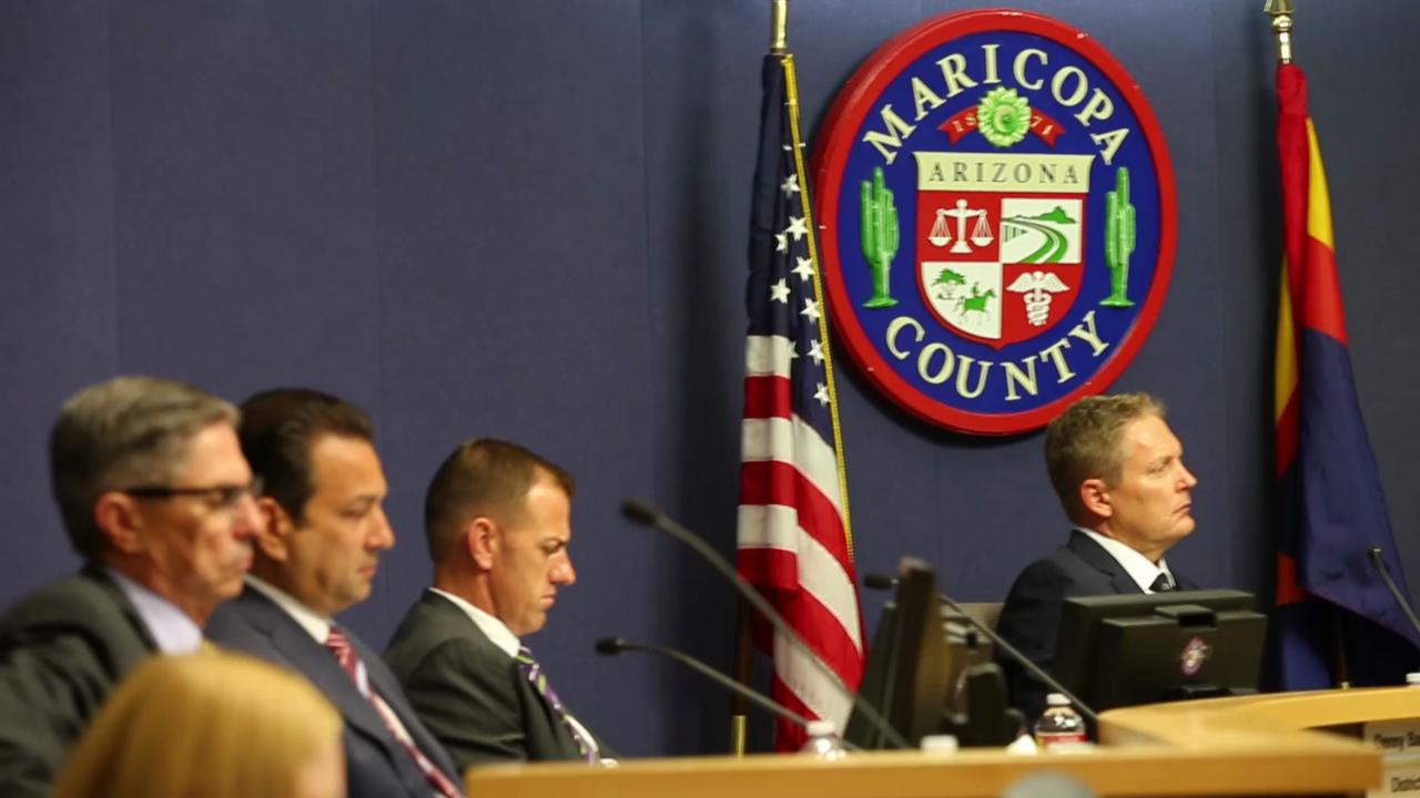 Maricopa County Board of Supervisors certifies the presidential-preference election