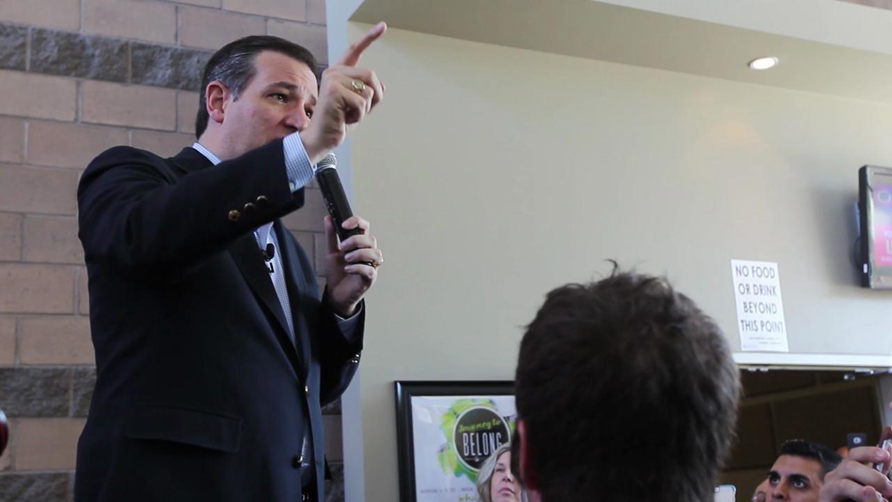 Ted Cruz speaks at meet and greet in Peoria church