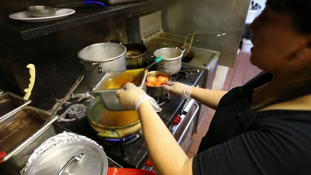 Dominic Armato's Killer Dish: Enmoladas