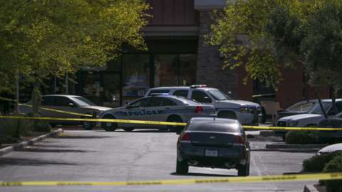 Police respond to a shooting at a Walmart in Chandler
