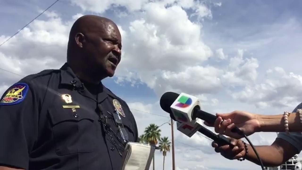 Officer hurt, suspect 'down' in Phoenix shooting