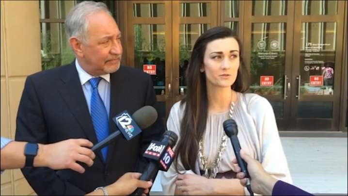 Laney Sweet, attorney Mark Geragos react to May 17 Brailsford hearing