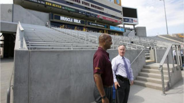 Ray Anderson on Sun Devil Stadium renovations