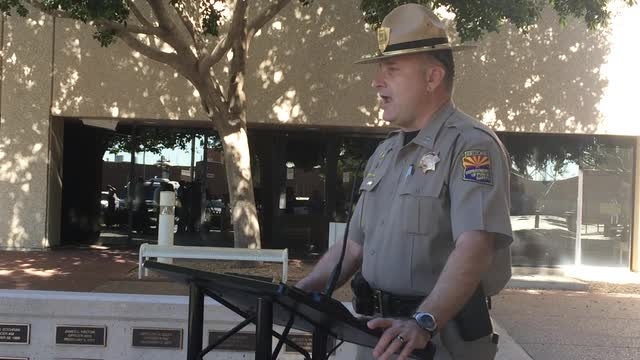 State troopers prepare for Phoenix Trump rally