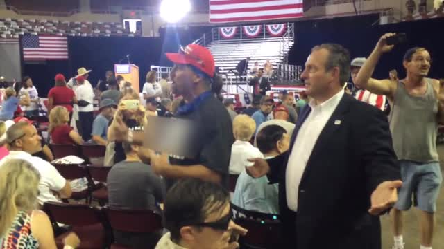 Man removed from the rally shares why he thinks Donald Trump will win
