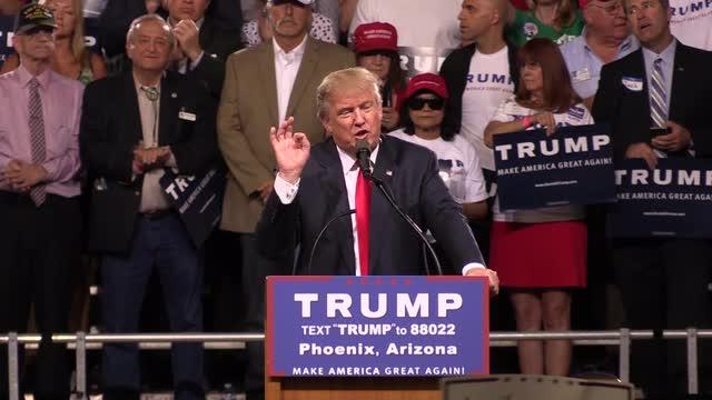 Five takeaways from Trump's June speech in Phoenix