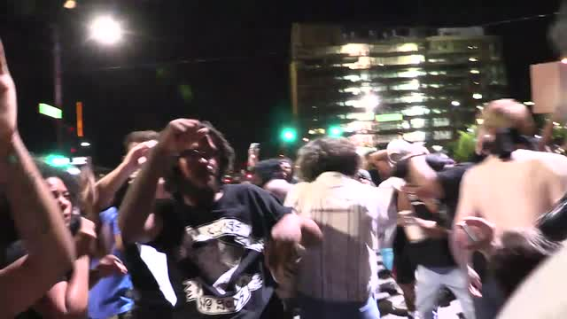 Phoenix rally: Protesters pepper-sprayed