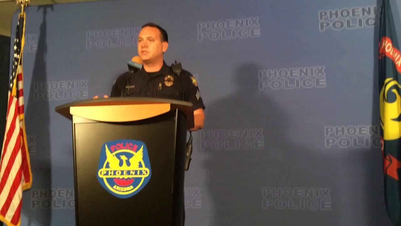 Phoenix police report on rally conflict