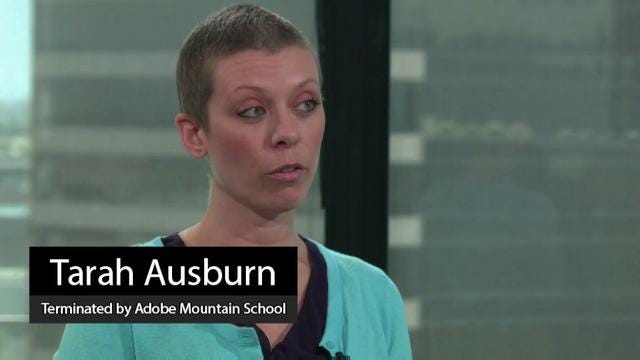 Breast-cancer patient Tarah Ausburn on losing job at school
