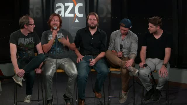 azcentral studio concert: Captain Squeegee