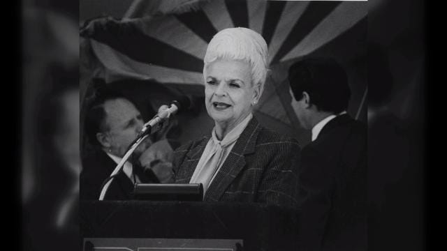 Rose Mofford, first woman to serve as Arizona governor, has died