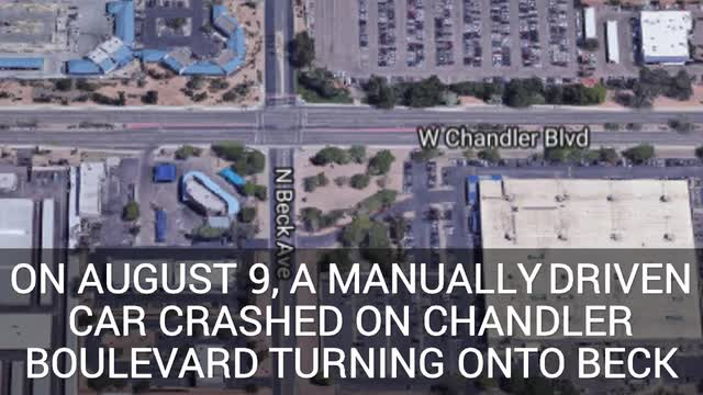 Three crashes so far with Google self-driving cars in Chandler