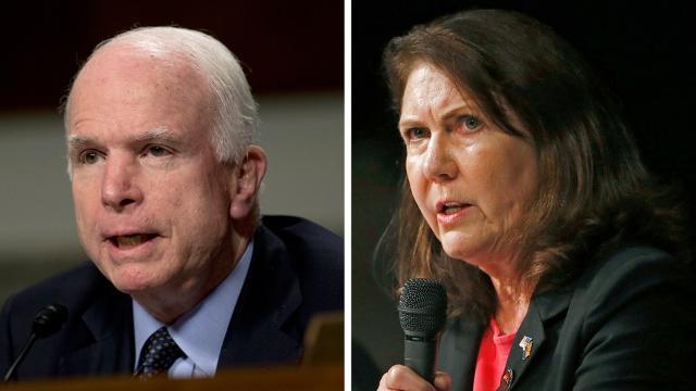 Poll: McCain leads Kirkpatrick in Senate race