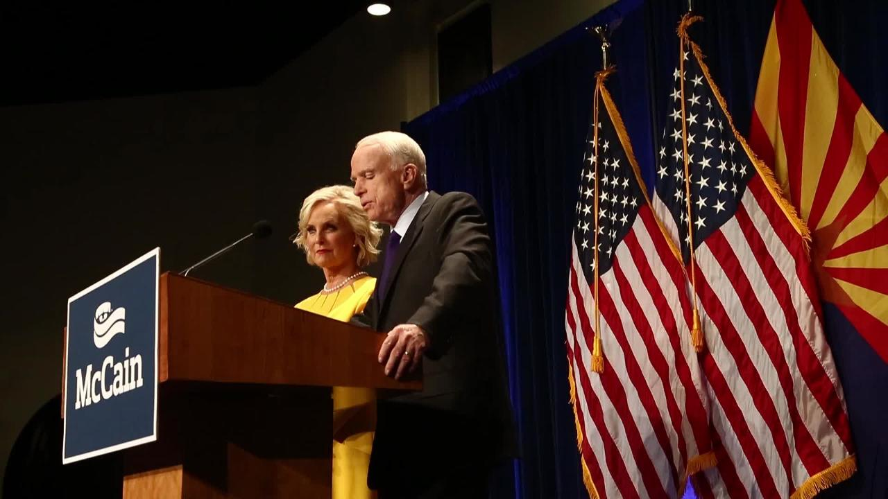 Arizona's John McCain re-elected to U.S. Senate