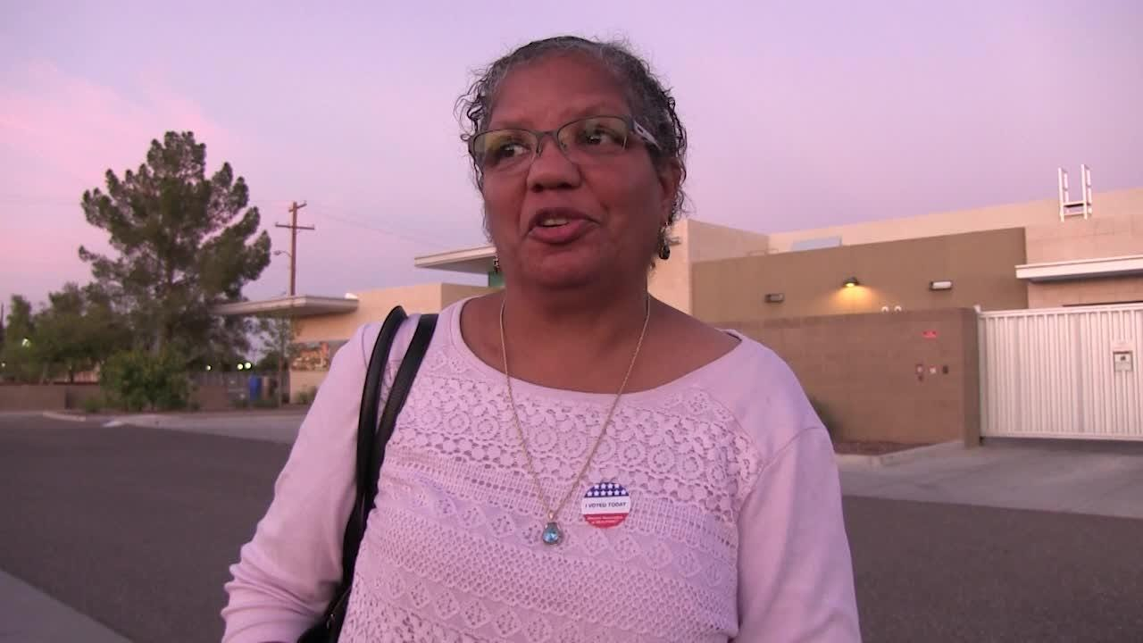 Peoria voter talks about her Election Day experience