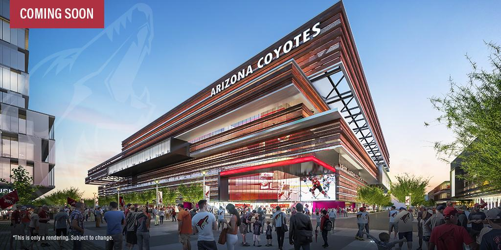 Who's paying for the new Coyotes arena?